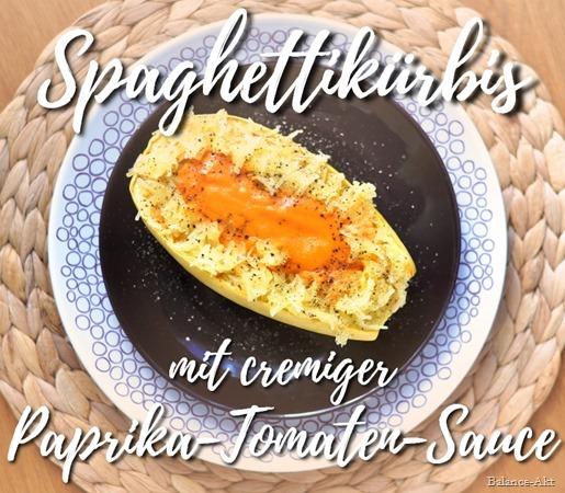 SpaghettikürbisMitCremigerPaprikaTomatenSauce