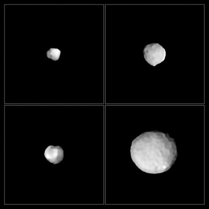 asteroides 49 Amphitrite, 324 Bamberga, 2 Pallas e 89 Julia