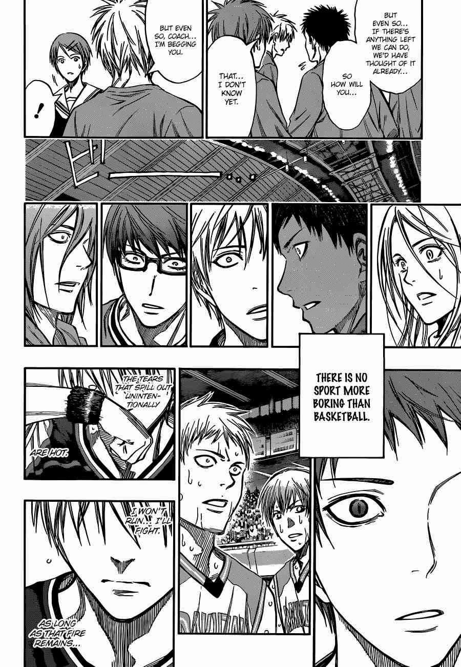 Kuroko no Basket Manga Chapter 247 - Image 18