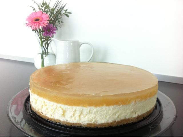 MULLEHUSET.DK: Cheesecake med æble