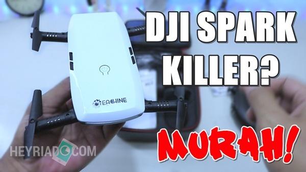 Saya kedatangan sebuah drone dari Banggood yaitu Eachine E Eachine E56 Unboxing Indonesia Drone Selfie Mirip DJI Spark