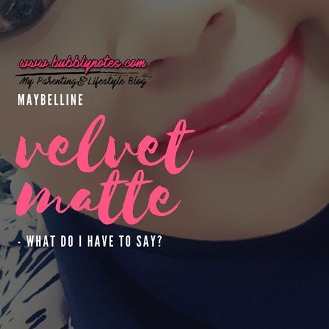 MAYBELLINE VELVET MATTE 4