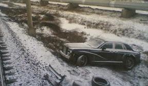 Abandoned Rolls Royce Phantom