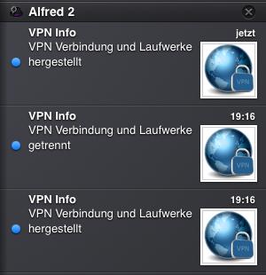 Notification Center von OS X