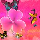 Тема Cute Pink GO Launcher EX icon