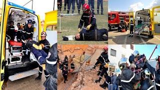 La protection civile couvre actuellement 68% du territoire national, le recrutement pas à l'ordre du jour