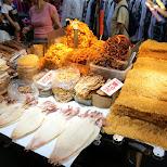 bizarre street food at Taiwanese night markets in Taipei, T'ai-pei county, Taiwan