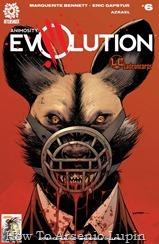 Actualización 14/07/2018: Se agrega el numero 5 de Animosity Evolution por Azrael para Ladroncorps. Las conspiraciones se tensan alrededor de Adam y sus compañeros mientras una sangrienta guerra de pandillas entre especies explota en la Ciudad junto al Mar.