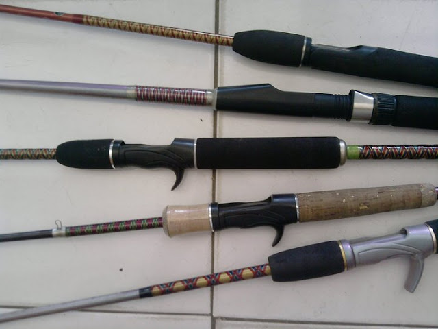 Joran Hasil Custom Rod