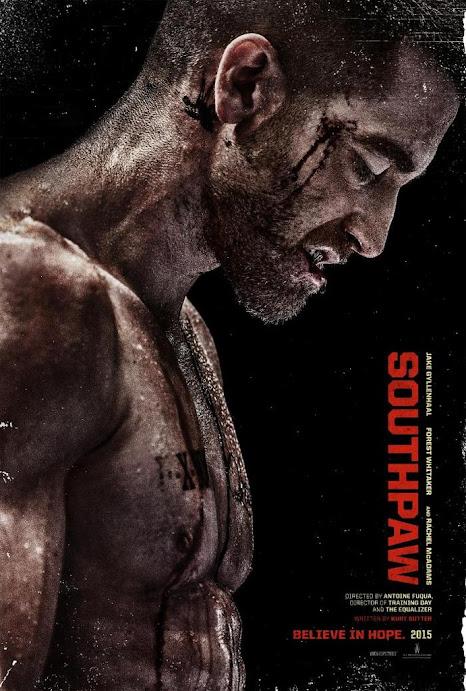 Ο Αριστερόχειρας (Southpaw) Poster