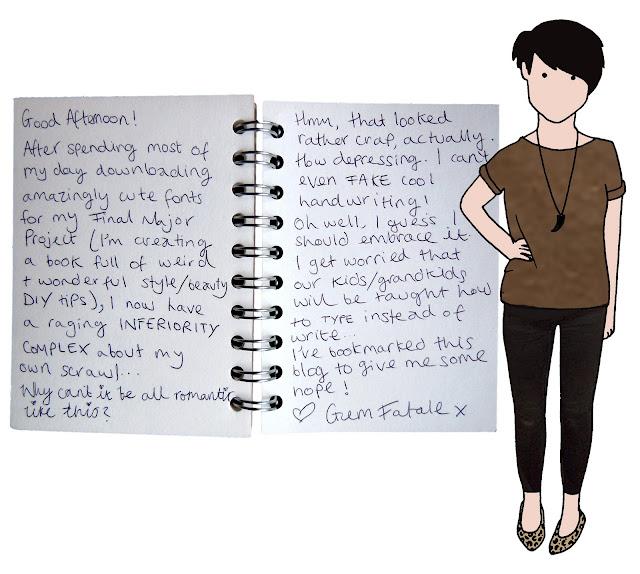 by Handwritten 27 feb 11 You