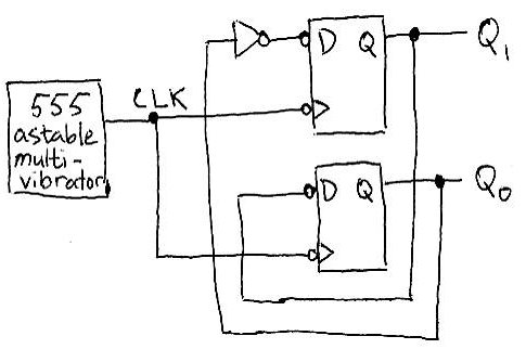 555-logic: designing digital circuits with 555s only