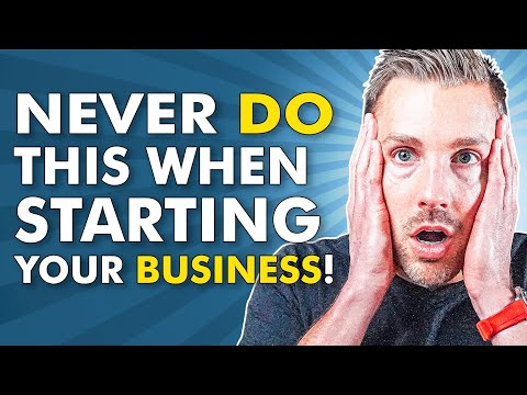 What not to do when starting a business