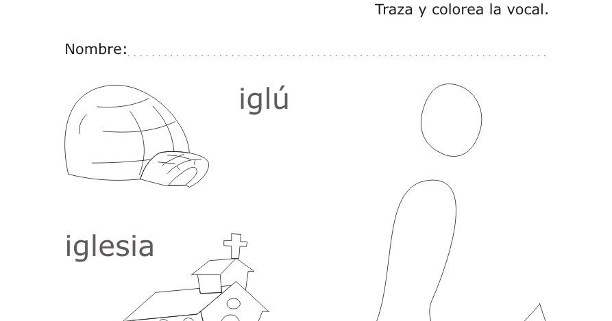 Dibujos para Colorear y Trazar