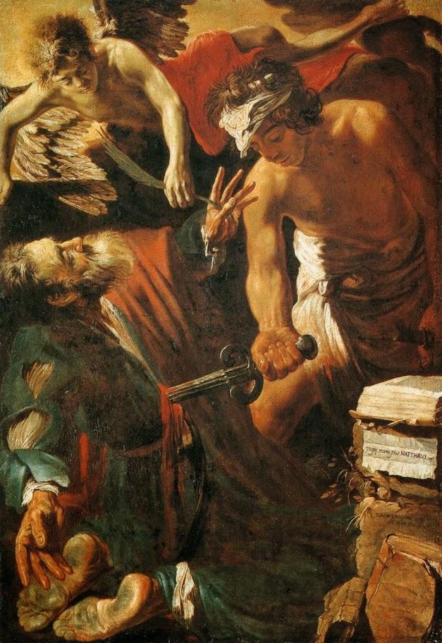 Claude Vignon - The Martyrdom of St Matthew