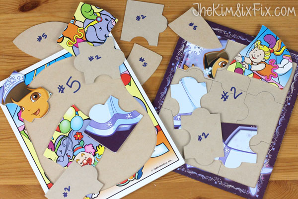 Organizing puzzles
