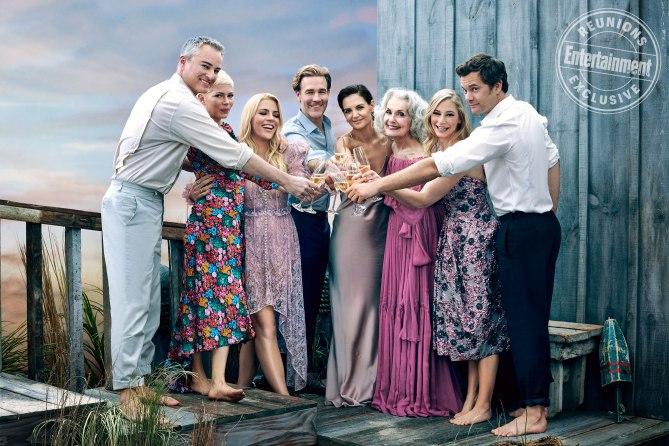 Dawson's Creek compie 20 anni, le foto della reunion degli attori