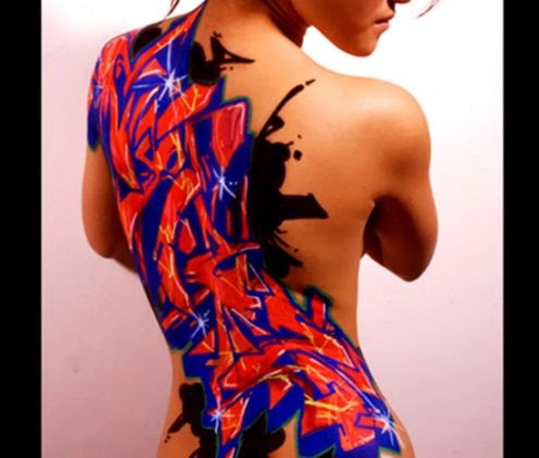 New Graffiti Body Art Show  POPSUGAR Beauty