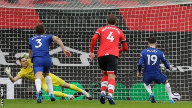Southampton 1 – 1 Chelsea (Watch Here)