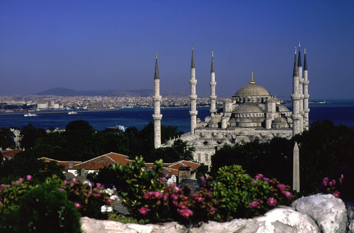 Eat Smart Turkey - Blue Mosque