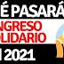 ¿El Ingreso Solidario se acabará en junio de 2021?
