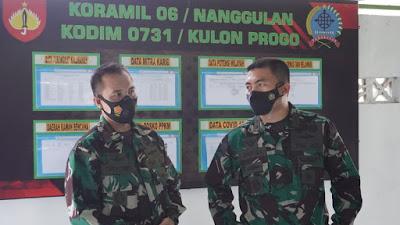 Koramil Girimulyo dan Nanggulan Menjadi Sasaran Kunker Dandim  0731/Kulon Progo