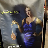 glowbal grill AD in Vancouver, British Columbia, Canada