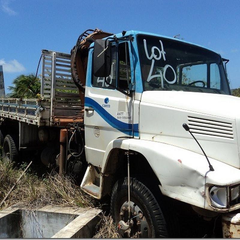 Caern promove leilão de veículos de passeio, caminhões e caminhonetas