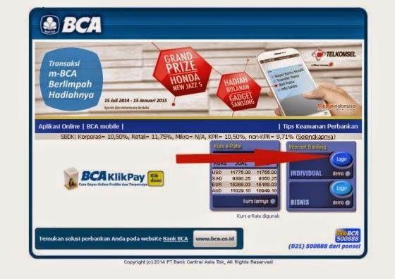 Cara Daftar Internet Banking BCA Klikbca Terbaru