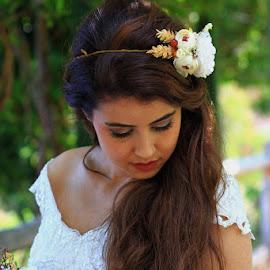 by Necdet Yaşar - Wedding Bride ( beautiful, beauty, bride, portrait, human )