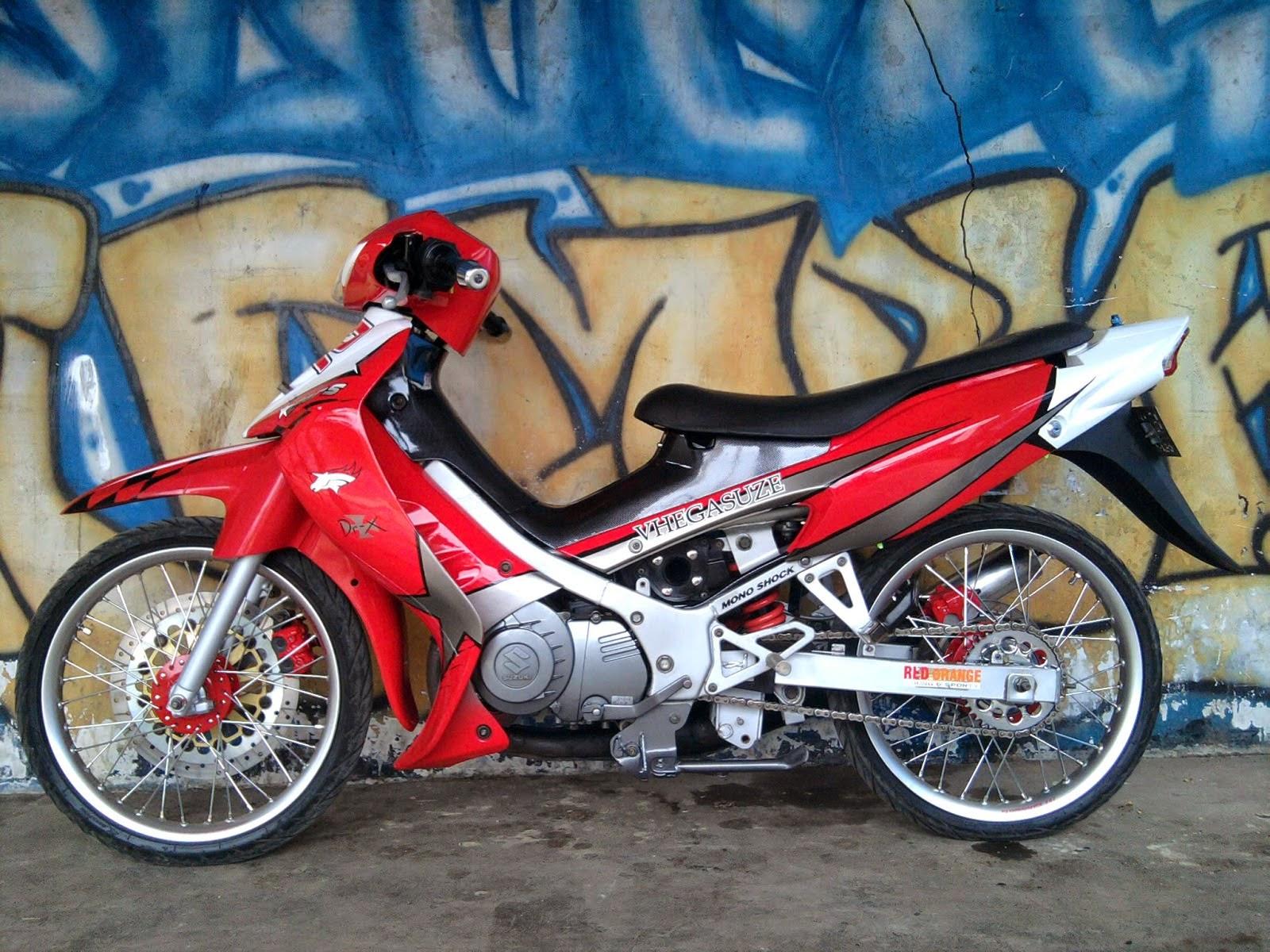 Foto Modifikasi Suzuki Satria