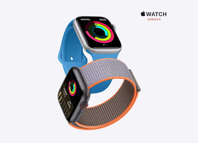 Amazon offering Save $100 on  $100 on Apple Watch Series 5 Selling Price at $299.99. listing price of $399.99.