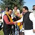 *राजस्थान सरकार के चिकित्सा एवं स्वास्थ्य मंत्री रघु शर्मा ने वार्ड नंबर 61 के पार्षद तौफ़ीक़ बेहलिम को किया सम्मानित*