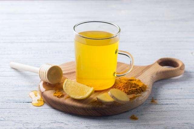 شاي الكركم للالتهاب الرئوي