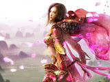 Girl Warrior In Pink