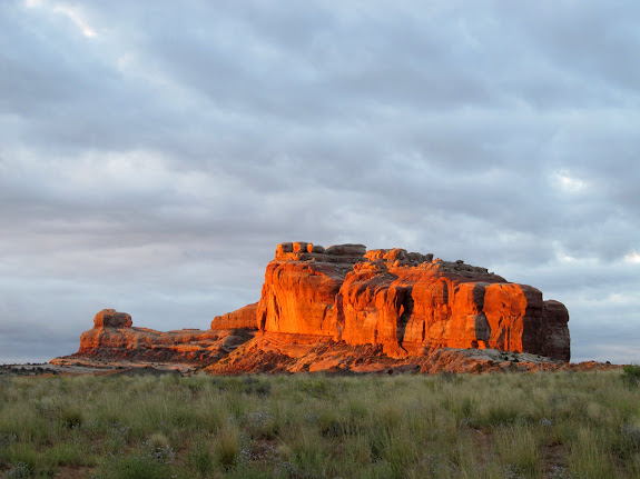 Courthouse Rock at sunrise