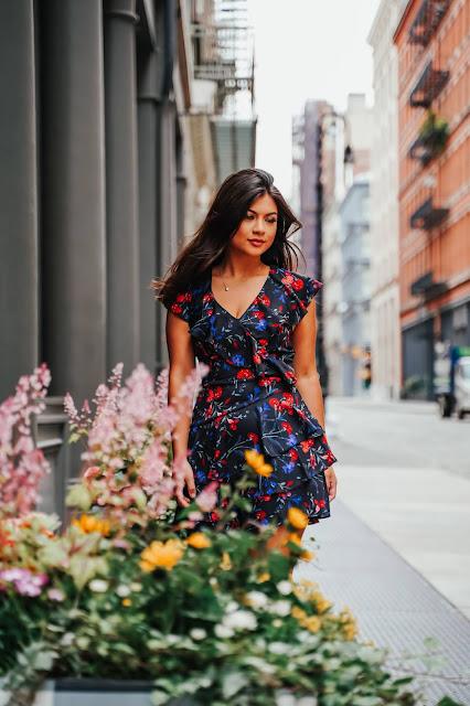 New York Fashion Blogger Kelly Fountain photoshoot with Roman Mokrenko