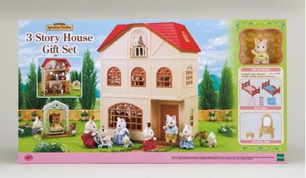 Bộ quà tặng nhà ba tầng Epoch 3 Story House Gift Set