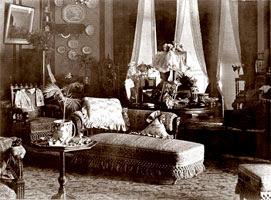 декор стен Викторианской эпохи
