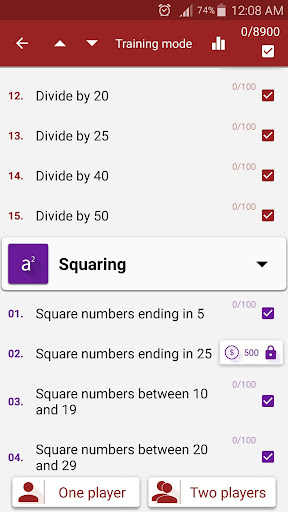 Math Tricks 2.17 screenshots 8