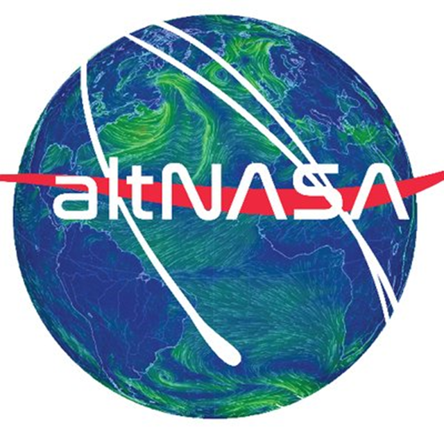Logo for the AltNASA Twitter feed. Graphic: AltNASA