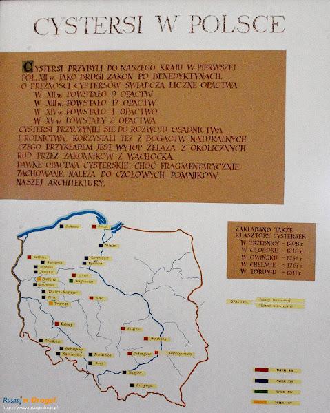 Tablica Cystersi w Polsce