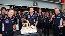 200th Grand Prix for Mark Webber