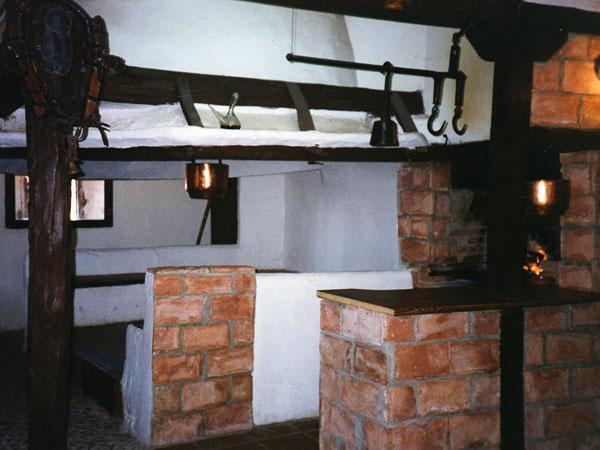 Cocina de fuego bajo en La Venta de Ciria (Soria)