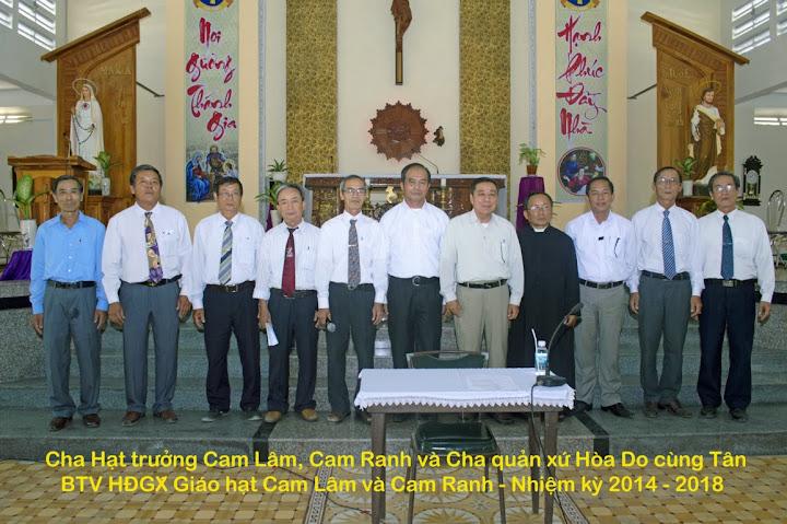 Hội đồng Giáo xứ liên Giáo hạt Cam Ranh và Cam Lâm họp mặt thường niên