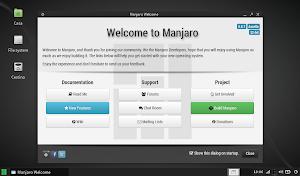 Manjaro Linux 0.8.7
