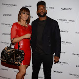 OIC - ENTSIMAGES.COM - AJ and Oritse Williams at the Raymond Weil Annual Music Dinner London 12th February 2015