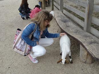 2018.08.25-007 Stéphanie et une chèvre