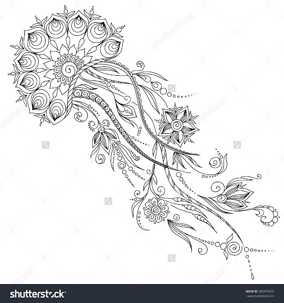 Stock Vector Pattern For Coloring Book Coloring Book Pages For Kids And  Adults Abstract Graphic Illustration