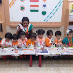 Independence Day Celebration by Nursery Morning Section at Witty World, Chikoowadi (2018-19)